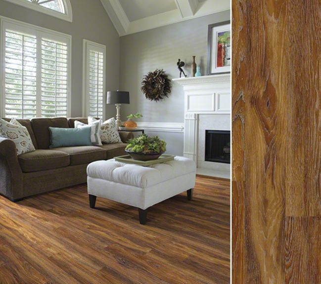 HGTV HOME Flooring By Shaw Laminate With A Rich Surface