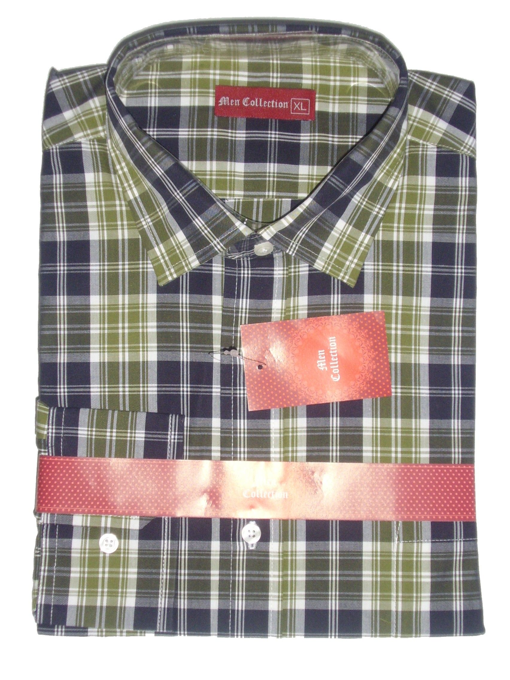 Green Multi Check Cotton Shirt 20% off on your order, use code KW202015 at the checkout.