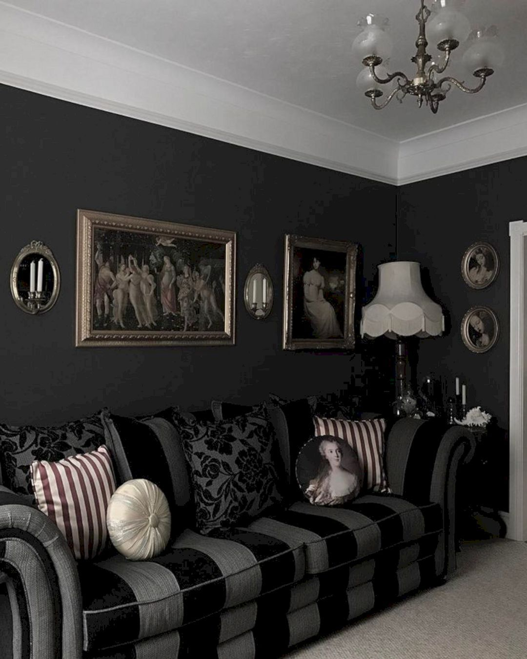Majestic 40 Best Black And White Interior Design Ideas Https Freshouz Com 40 Best Black And White Interior Design Ideas Home Gothic Living Rooms Home Decor,Simple Embroidery Designs For Neck Blouse