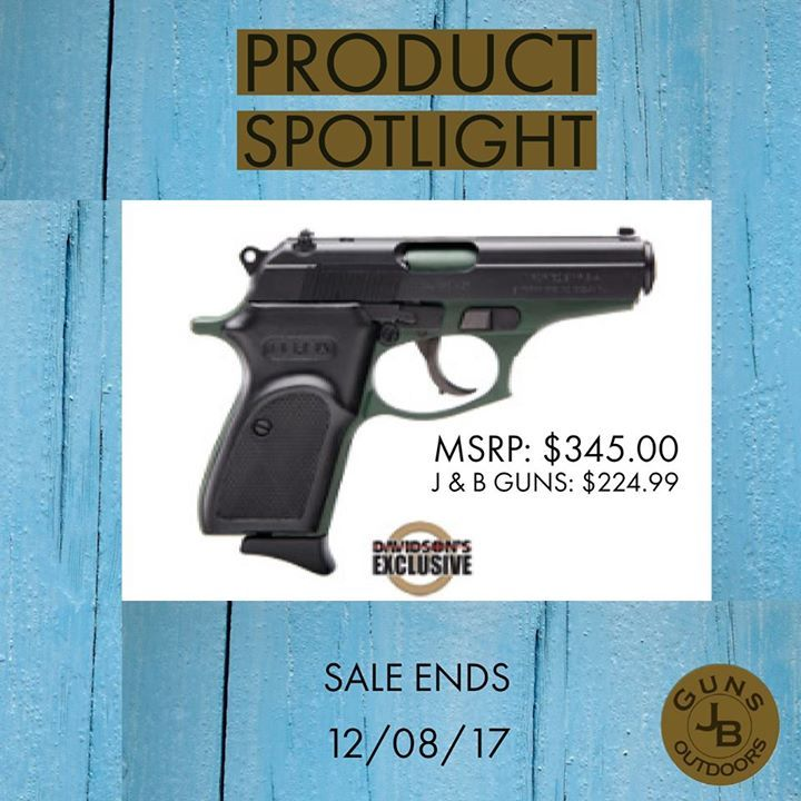 Product Spotlight Bersa Thunder 380 Duotone Pistol Sale Ends 12