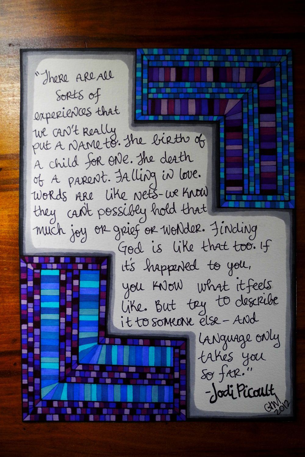 More quote drawings of the geometric variety sew collision