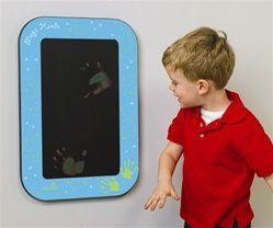 heat sensitive magic hands wall panel