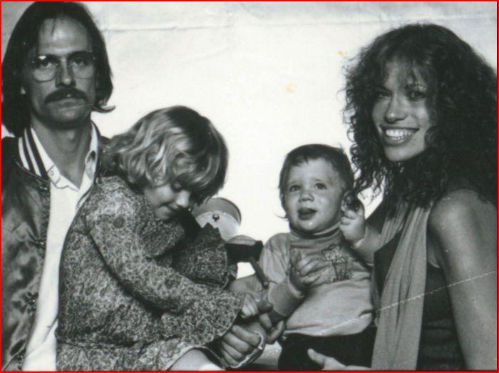 James Taylor Sarah Aka Sally Ben And Carly Simon Family Portrait