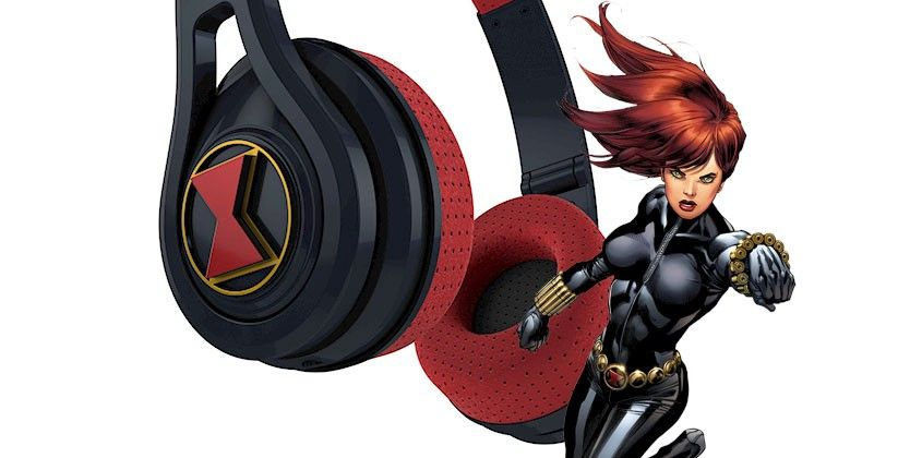 SMS Audio headphones tap into Black Widow, Cap, Iron Man