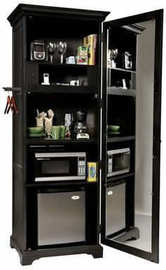 Image Result For Microwave And Mini Fridge Cabinet