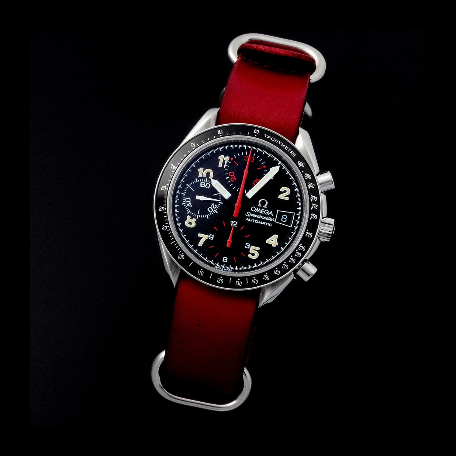 Omega Speedmaster Sport Date Chronograph Automatic // 38135 // 36197 // c.1990's // Pre-Owned