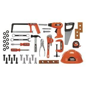 Magnificent Black And Decker Mega Tool Set Target Kids Play All Day Ibusinesslaw Wood Chair Design Ideas Ibusinesslaworg
