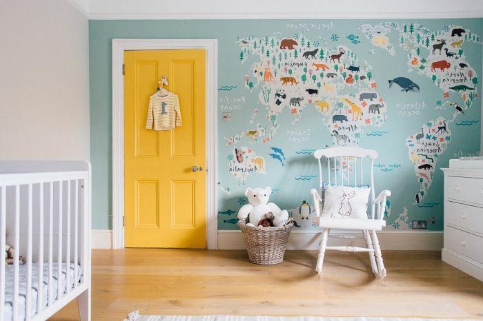 1001 id es originales comment peindre une porte - Comment peindre une chambre d enfant ...