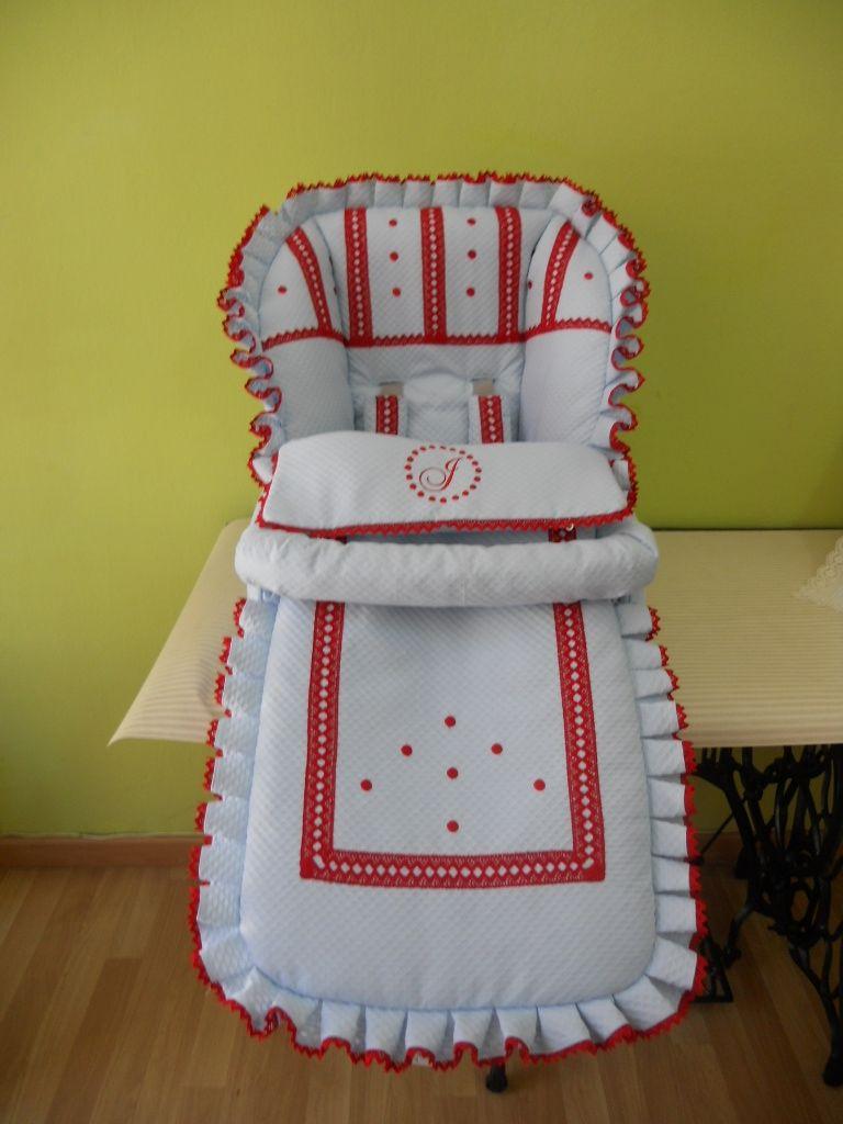 Inglesina silla y Saco lencero para azul en Realizado piqué Nv8Om0nw