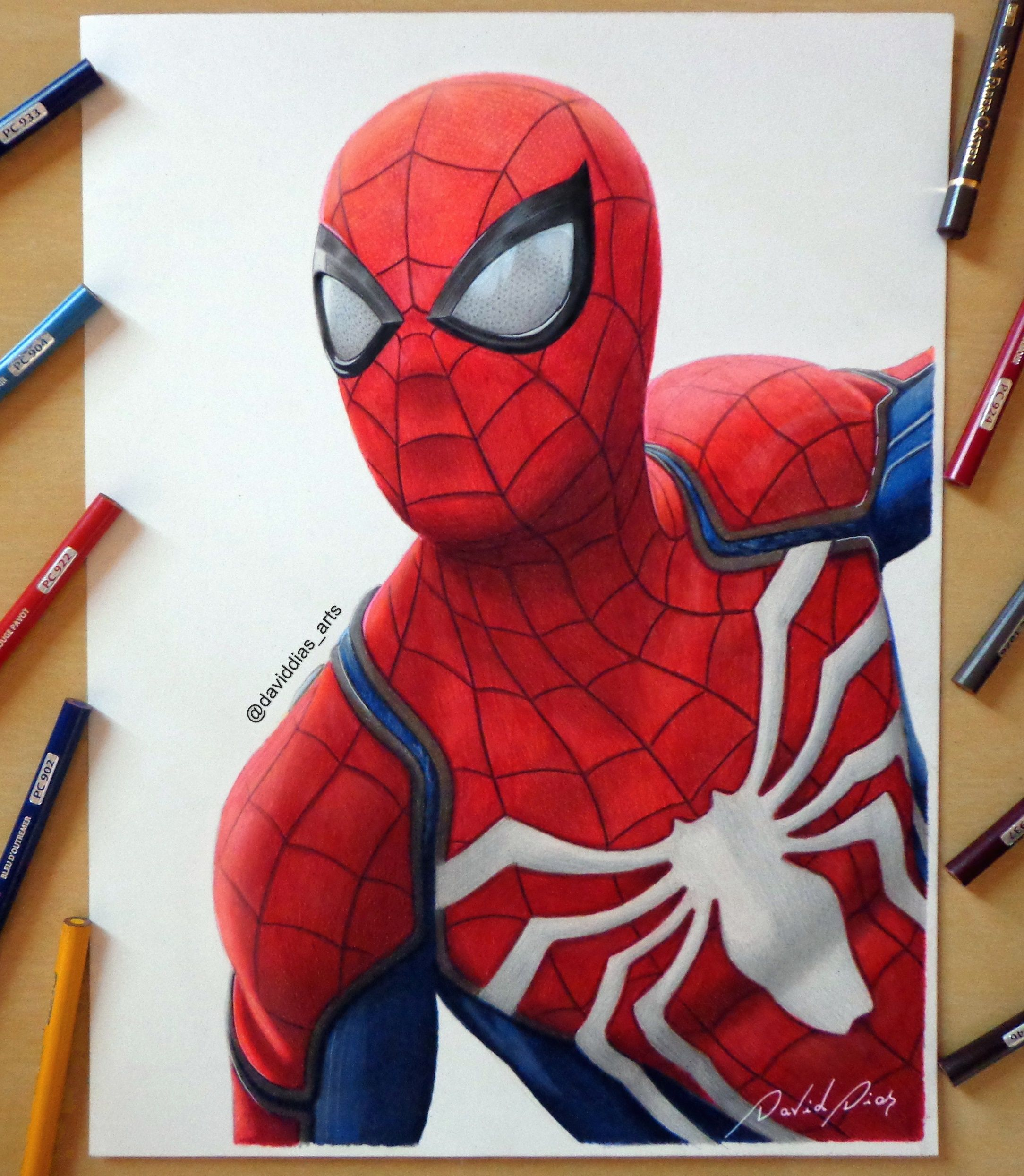 Uncategorized Drawings Of Spider Man drawing of spider man buy prints it here httpswww etsy com httpswww