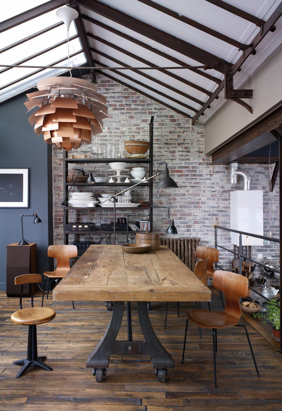 Industrial Design Wohnzimmer How To Handle Industrial Style With The Best Lighting Designs