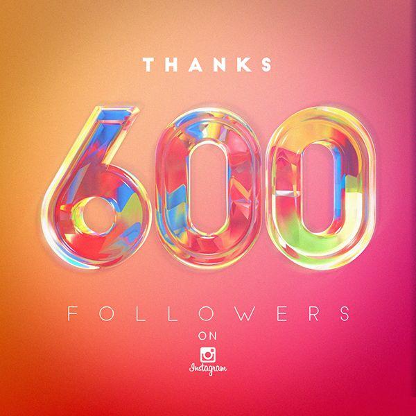 600 followers on instagram on behance Pin On Instagram Posts