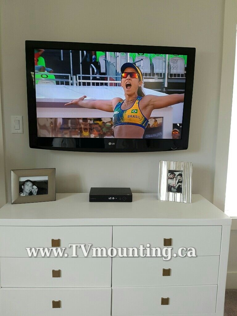 46 inch hdtv master bedroom tv in wall cabling no wires visible rh pinterest com HDTV Cord HDTV Connector