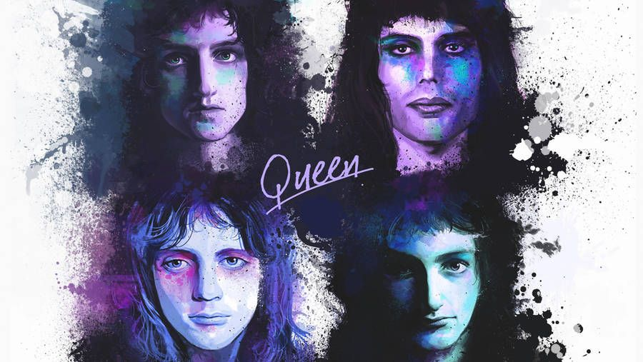 Queen By Clownguppi Music Artwork A Kind Of Magic Queen Brian May