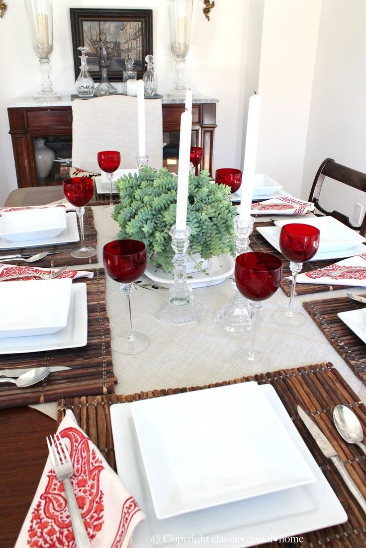 classic • casual • home 5 Steps for an Easy Dinner Party...for ...
