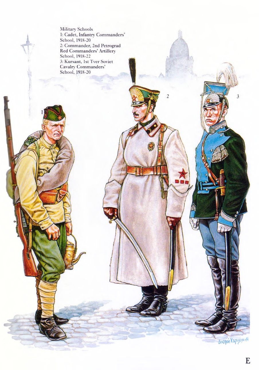 Russian_Civil_War__1__The_Red_Army | Uniforms | Red army ...