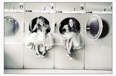 This is just too adorable! love the dresses and shoes!
