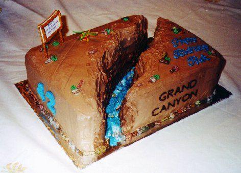 The Grand Canyon Party Ideas Grand Canyon Cupcake