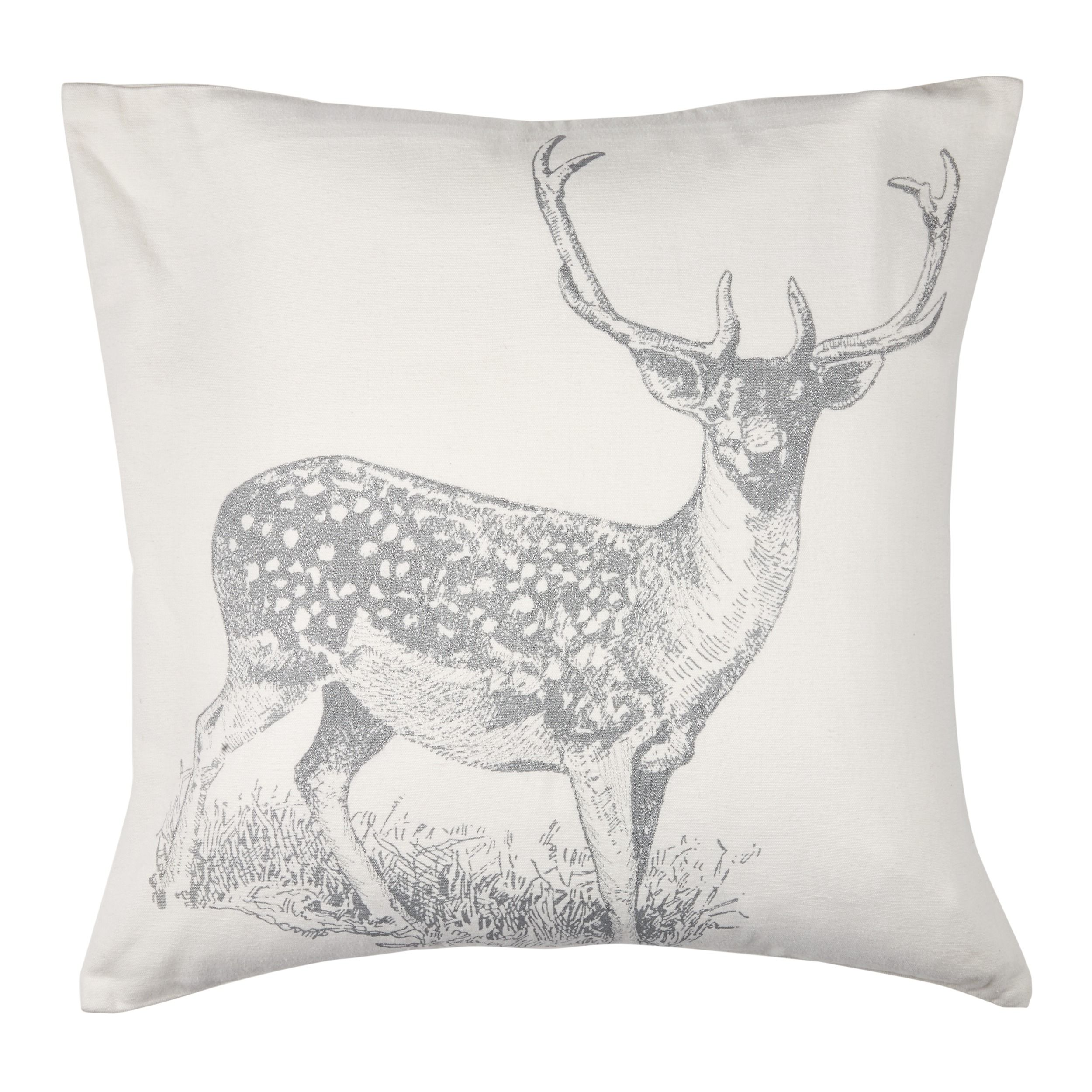 linen red product deer two uk covers x throw duvet cushion pillow christmas pillows