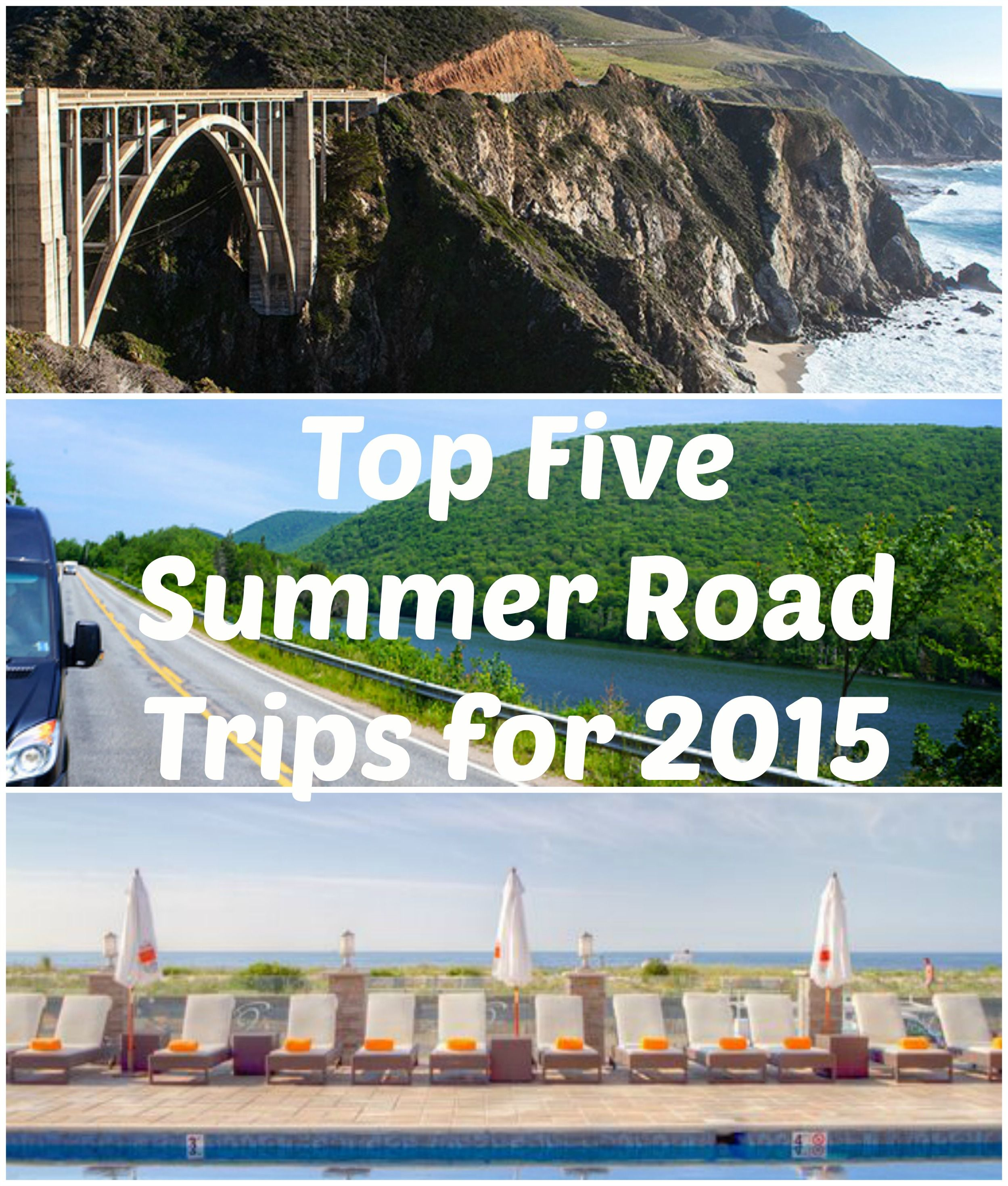 Us Road Trip Ideas: Road Trip Planner: Five Summer Vacation #RoadTrips For The