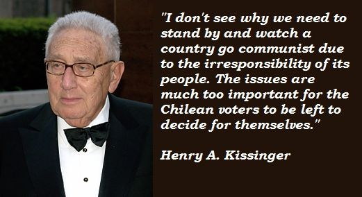Henry Kissinger Quotes Henry A Kissinger Quotes Henry