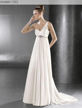 vestido de novia corte imperio - Buscar con Google | WEDDING ...