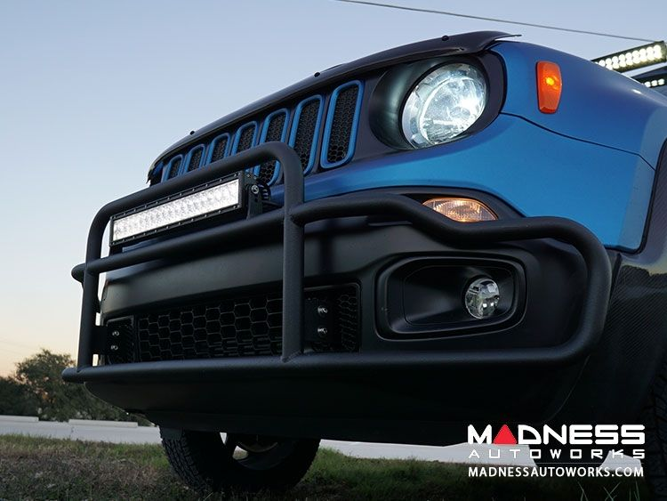 Jeep Renegade Front Bumper W Led Lights By Madness For Your Make
