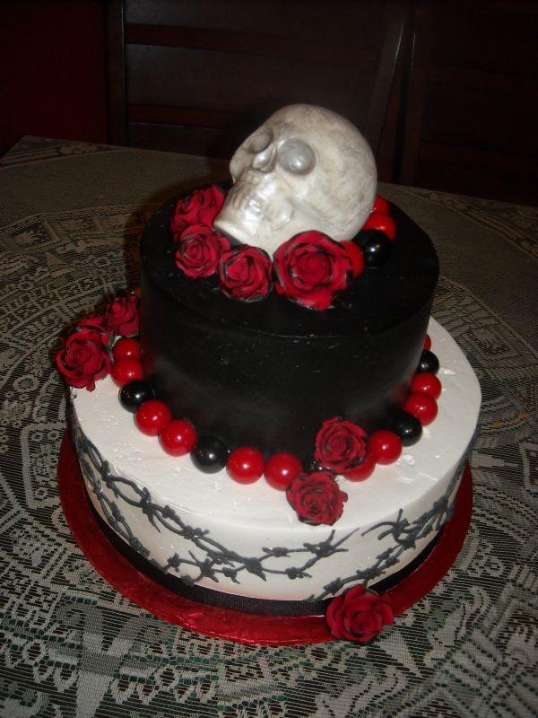 Skull Cake From Cake Central Cakes Pinterest Cake Birthday