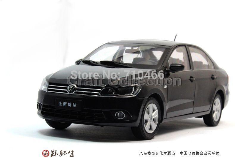 Black 2013 1 18 Volkswagen German Vw Jetta Miniature Scale Models