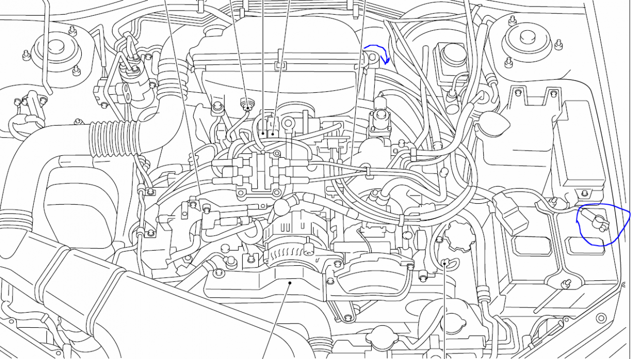 Subaru Engine Diagram ImprezaPinterest