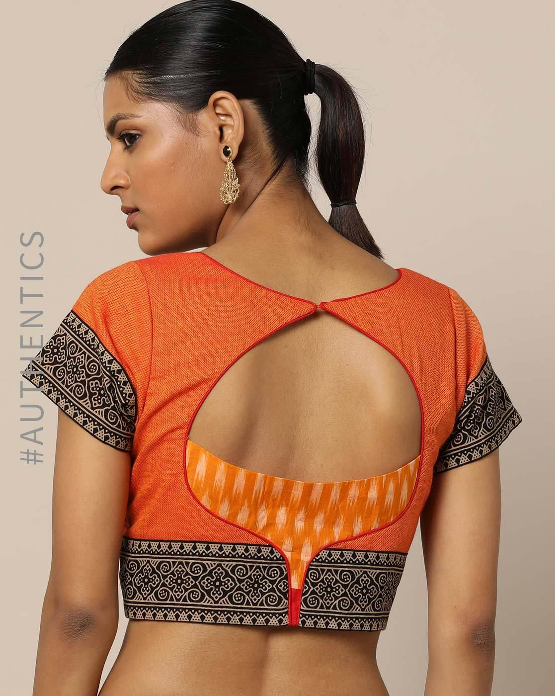 38 Simple And Stylish Blouse Back Neck Designs Keep Me Stylish Simple Blouse Designs Blouse Design Models Stylish Blouse Design