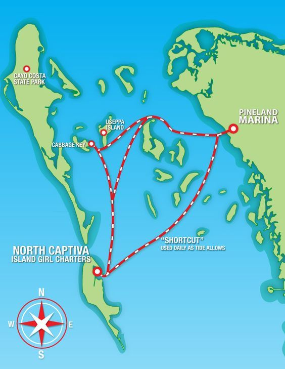 North Captiva Island Girl Map Places I Love! North captiva