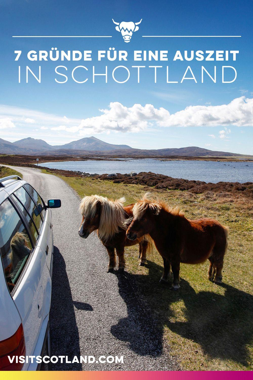 7 Gründe für eine Auszeit in Schottland #naturallandmarks