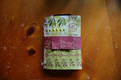Diy Book Belly Band Closure For Mini Scrapbook Albums