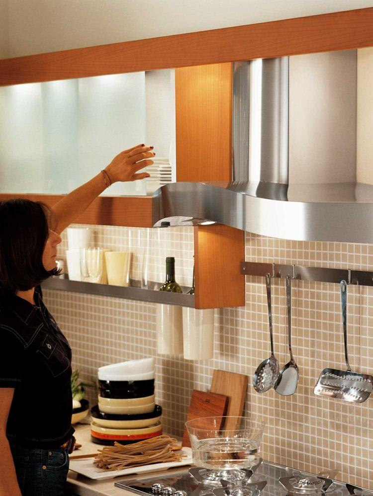 Teak Küche von Snaidero \u2013 Der Traum jedes Hobby-Kochs #hobby #jedes - Nolte Küchen Fronten Farben