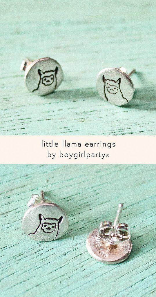 11521d9fe Llama Earrings (Sterling Silver) by Susie Ghahremani / boygirlparty.com –  the boygirlparty shop – shop.boygirlparty.com