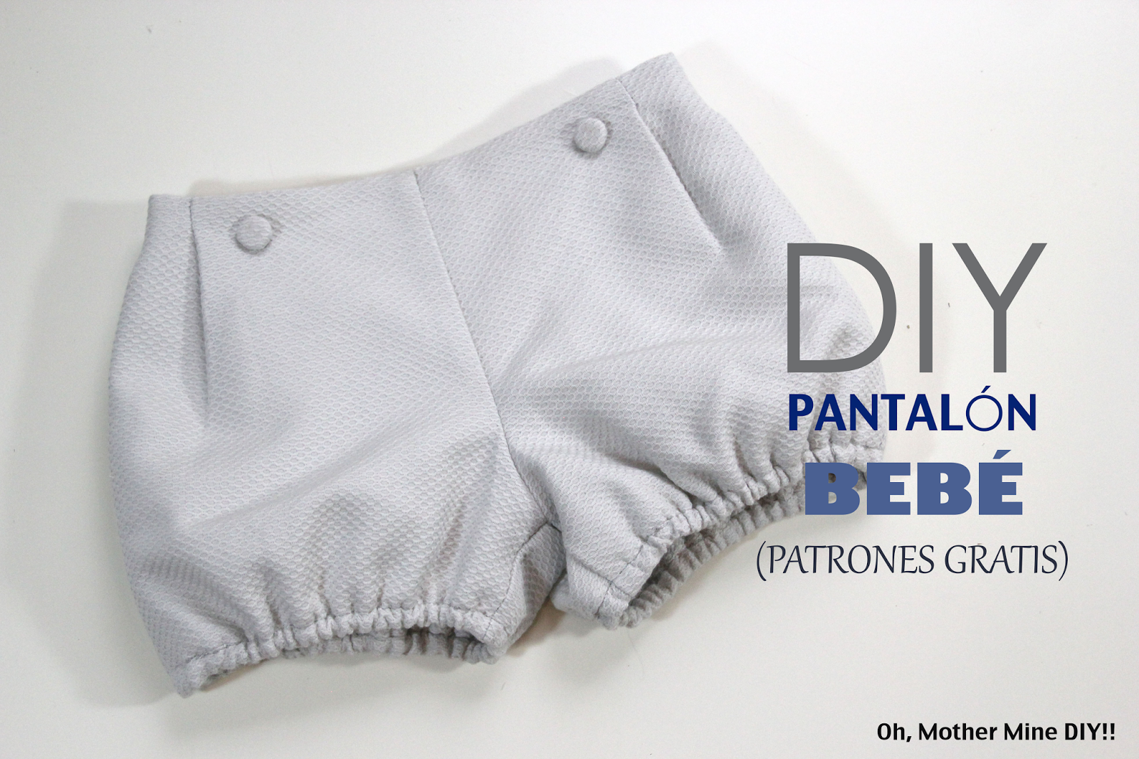 DIY Costura cómo hacer un pantalón de bebé (patrones gratis) | Lucas ...