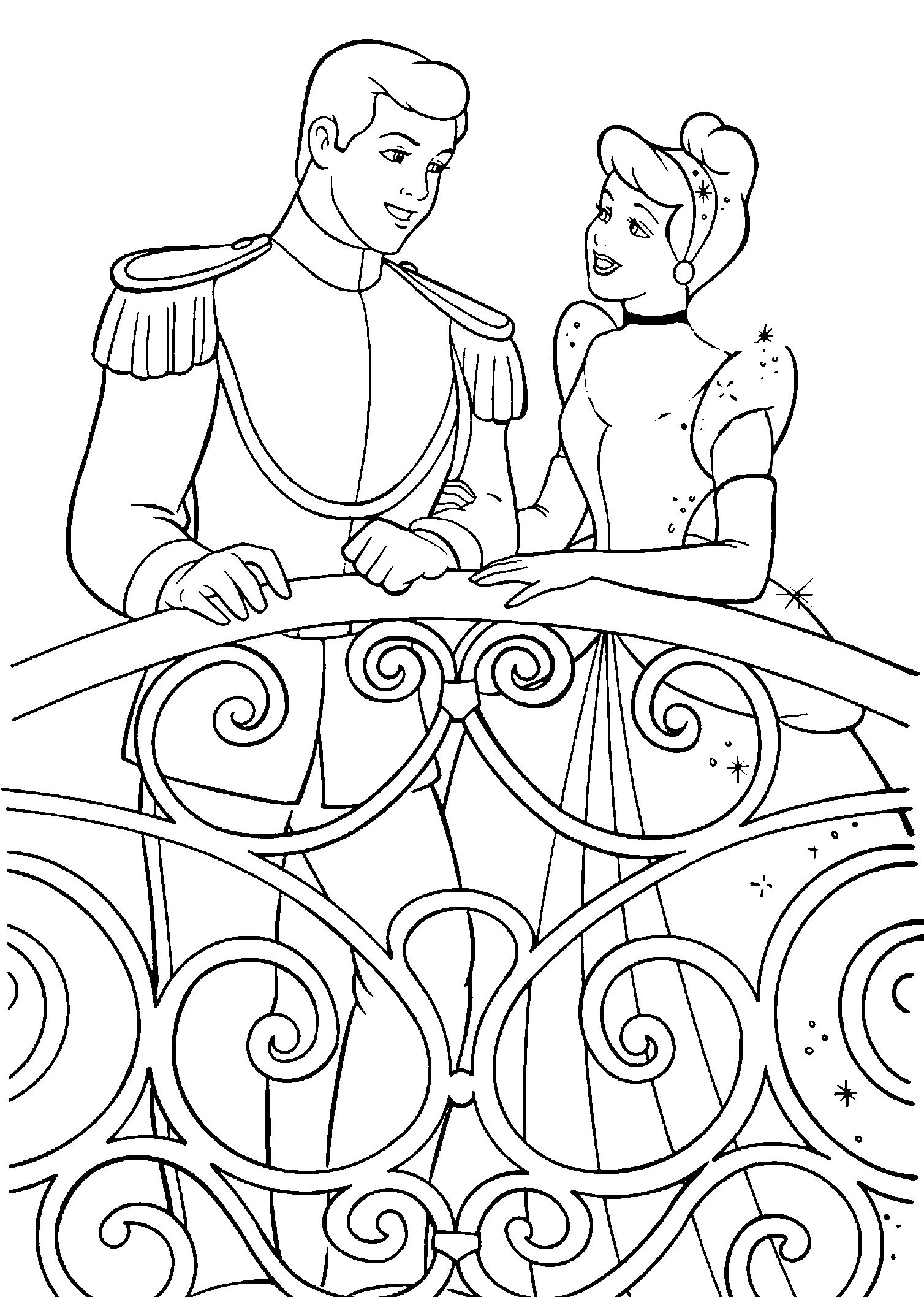 25 Coloring Pages December Coloring Pages Pinterest Cinderella