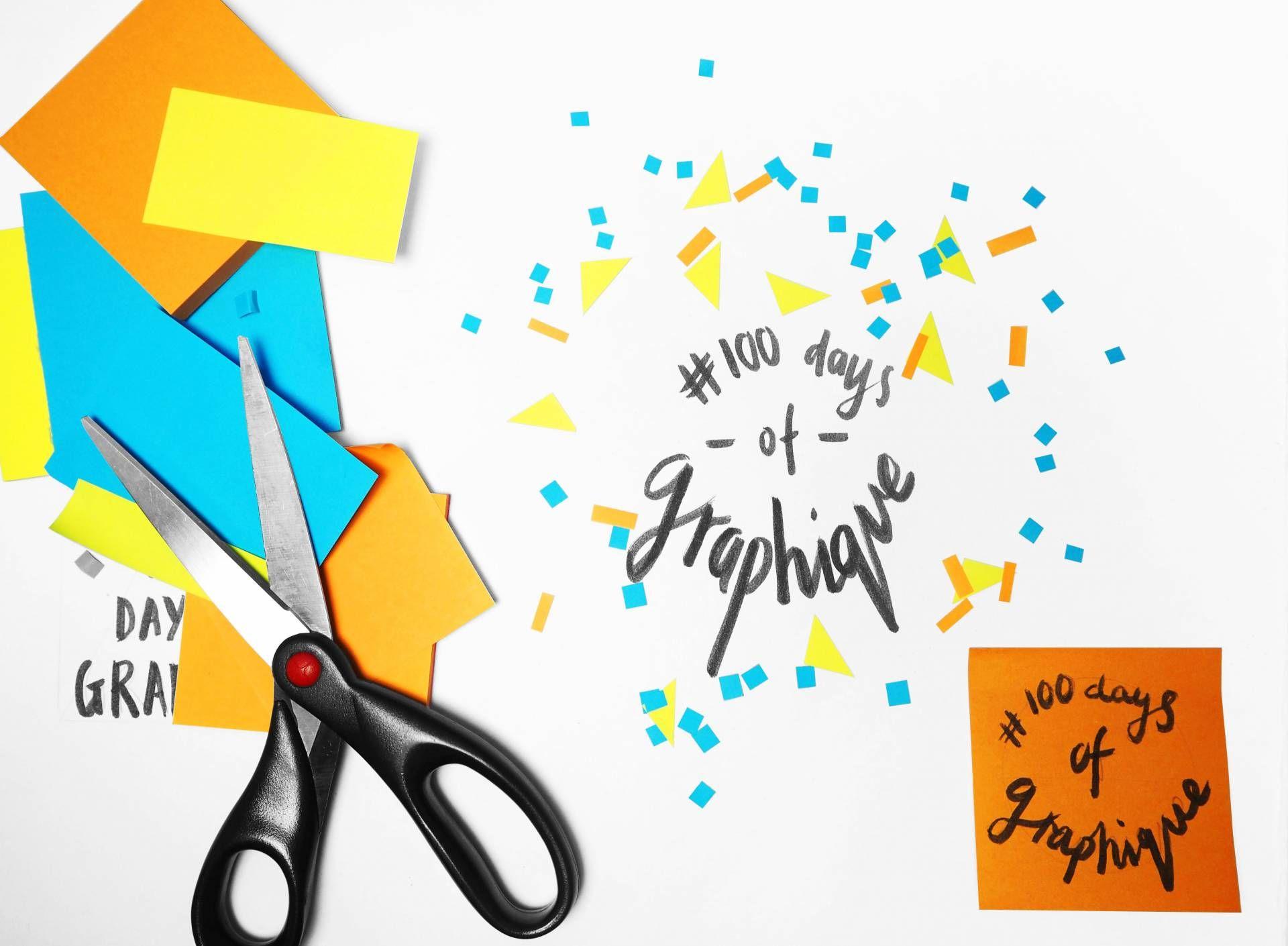 100daysofgraphique Graphique Fantastique Typography Design Typography Day
