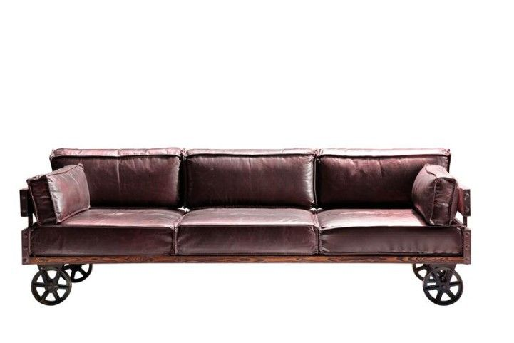 KARE Design - Möbel -Sofa Railway 3 Sitzer - versandkostenfrei jetzt