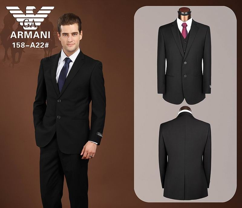 New Arrive Giorgio Armani Mens Business Suit | men wear ...