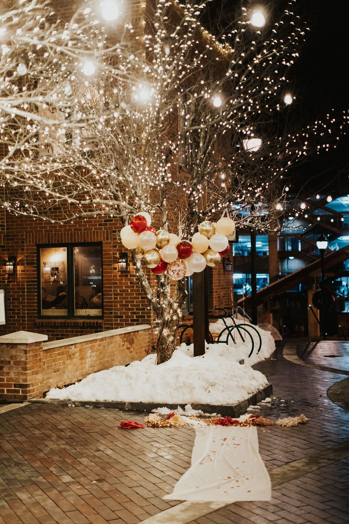 2020 Christmas Proposal CALDER PHOTOGRAPHY Elopement and Wedding Photographer in 2020