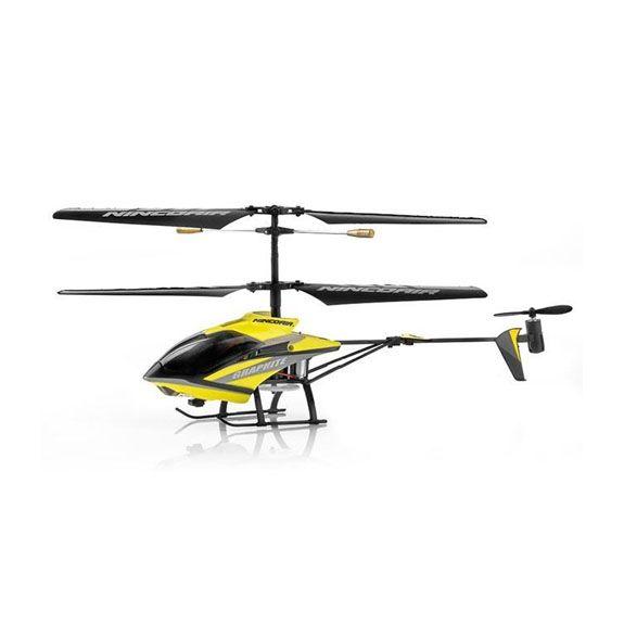 #Helicoptero #Radiocontrol Ninco Nincoair Graphite;  resentamos a Graphite, el helicóptero con giróscopo de tres canales y control por infrarrojos de Ninco.   Es ultrarresistente a los impactos, y muy ligero con ejes de fibra de carbono. Además esta diseñado para obtener una máxima estabilidad  ... En   http://www.opirata.com/helicoptero-radiocontrol-ninco-nincoair-graphite-p-29236.html