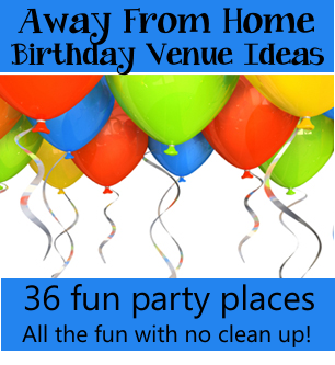 Venues For Away From Home Birthday Parties This Site Also Has