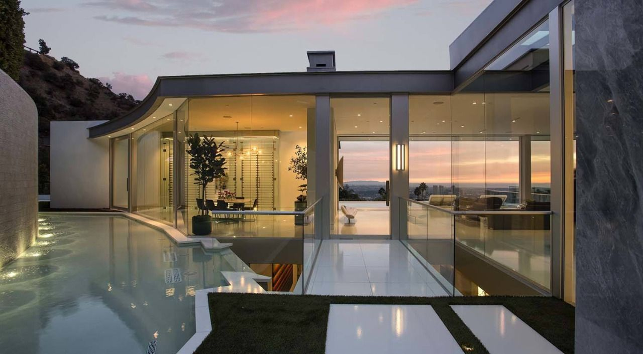 Exceptional Hollywood Hills · Best Home Design Inspiration   Epic Architectural  Masterpiece Overlooking The. Gallery