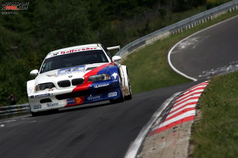 Winners of the 24 Hours Race at the Nürburgring – 2004: D. Müller/J. Müller/Stuck/Lamy - BMW M3 GTR