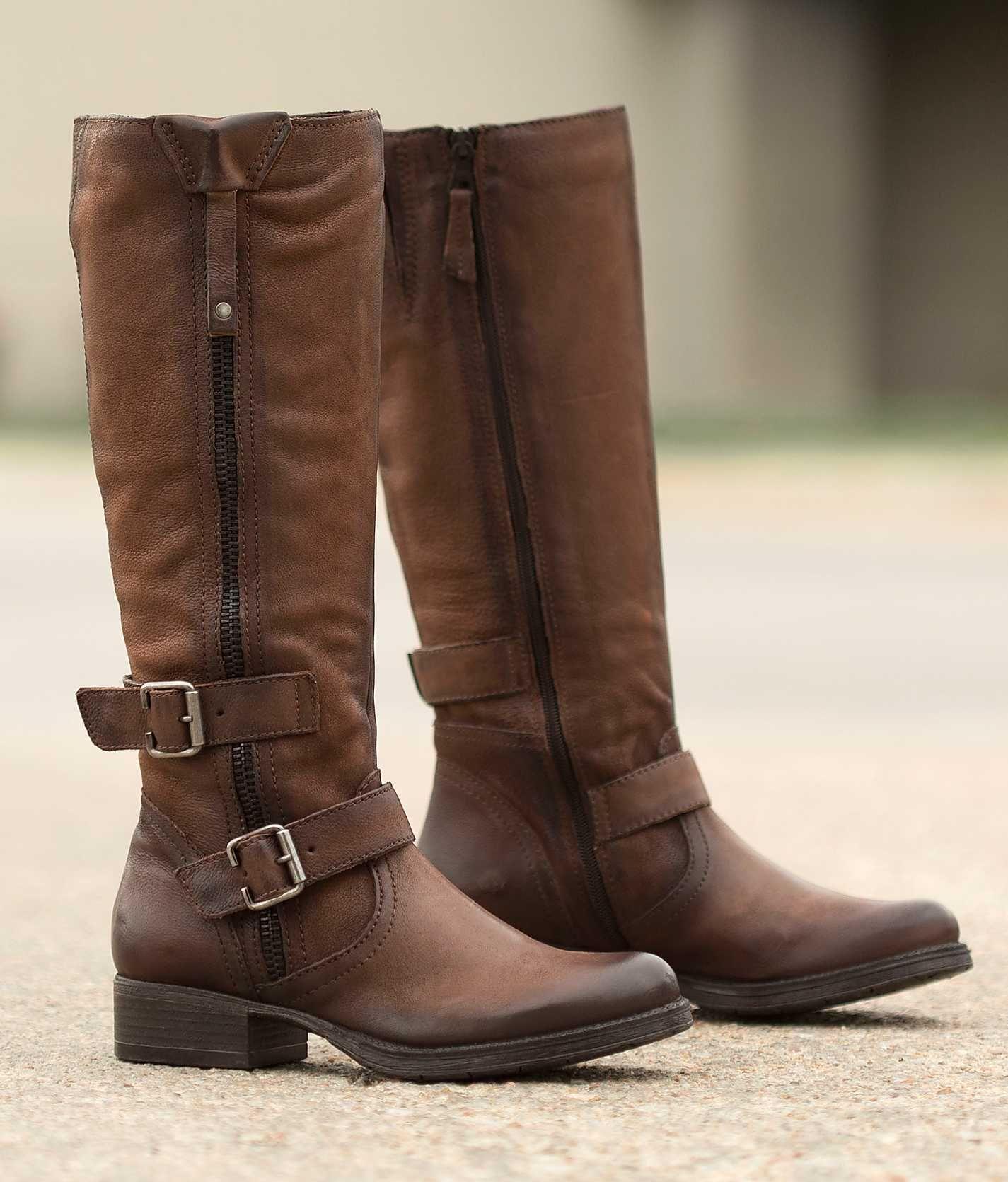 Miz Mooz Holden Boot - Women's Shoes in Chestnut
