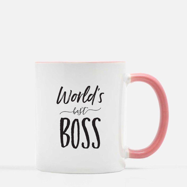 Worlds Best Boss Ceramic Mug