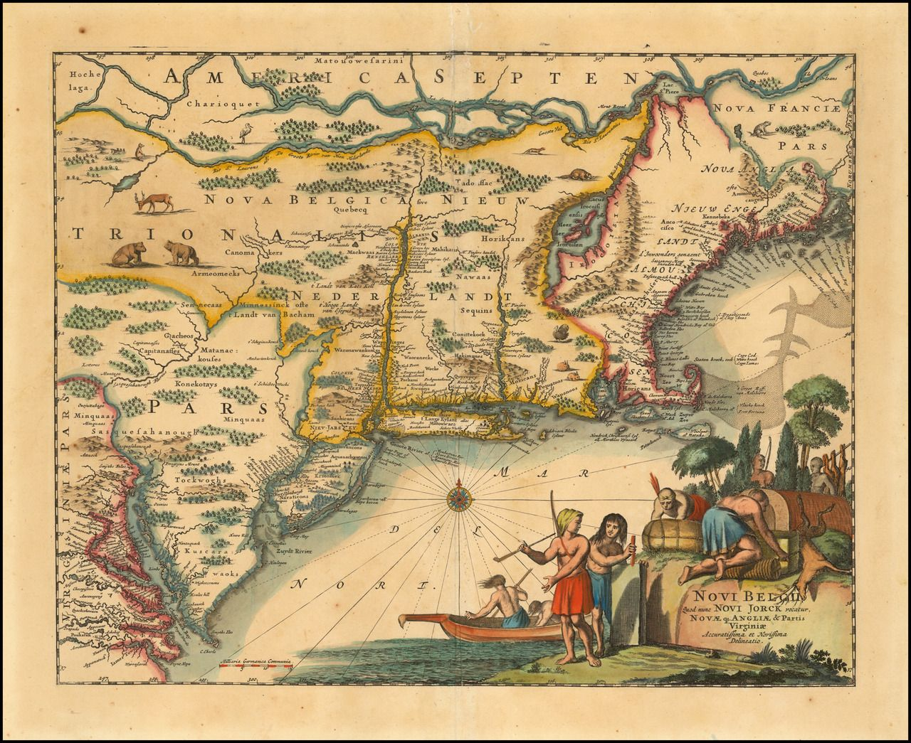 Northeast America From St Laurence And New England To The