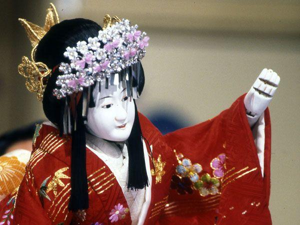 Japanese Puppets Bunraku | ... Los Angeles: Theatre Around the World: Japanese Bunraku Puppet Theatre